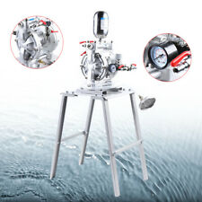 Air Operated Double Diaphragm Pump Inlet Petroleum Fluid Alum Alloy Install Easy