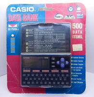Casio Data Bank Dc-4500a-s 500 Data Items Sealed R12736