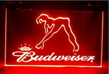 Budweiser Exotic Dancer Stripper beer bar pub 3d signs led Neon Sign man cave