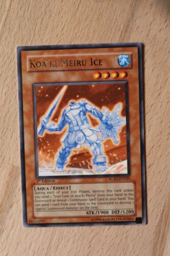 Silver Title Rare Yugioh Cards 1st Edition Unlimited Raging Battle RGBT