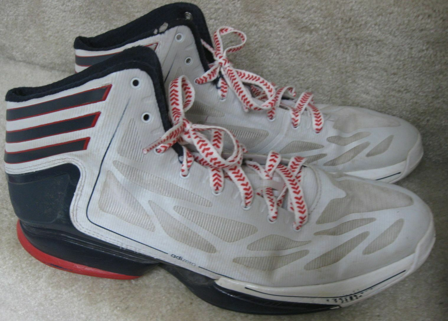 2012 Adidas Adizero Crazy Light 2.0 Shoes G48805 Size 14 Sneakers