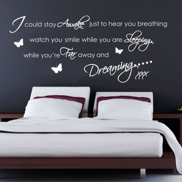Aerosmith Breating Quote Music Wall Art Sticker, Decal, Graphic, Transfer sg68