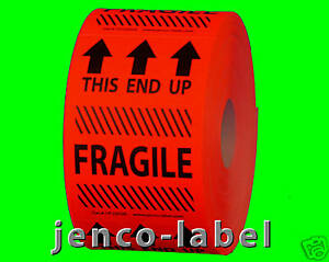 HF2302R-500-2x3-This-End-Up-Fragile-Label-Sticker