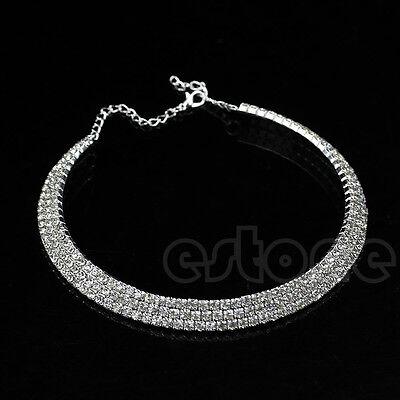 Crystal Rhinestone Collar Nice Necklace Choker Necklace Wedding Jewelry Birthday
