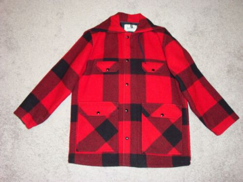 Johnson Woolen Mills Red/Black Insulated Buffalo P