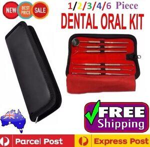 Dental Hygiene Tools Tartar Scaler Pick Calculus Plaque Teeth Mirror