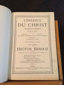 Hector-Berlioz-Enfance-du-Christ-oratorio-partition-chant-piano-reliee-Richault