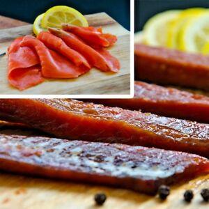 Wild-Pacific-Sockeye-Salmon-Lox-and-Double-Smoked-Salmon-Strips-Combo