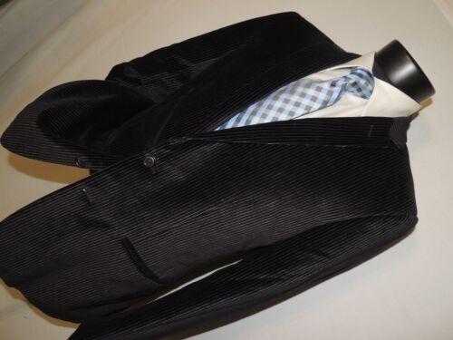 Calvin Klein men's Black stripe Velvet jacket coat