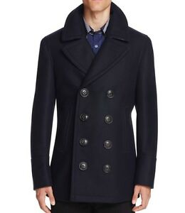 ebe93892d New Burberry Authentic 2018 Claythorpe Double Breasted Wool Pea Caot ...