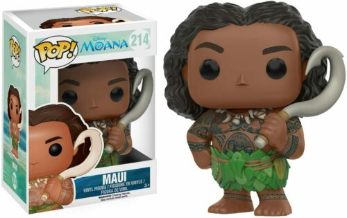 Moana Funko POP Disney Maui Action Figure w// Protector
