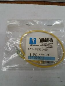 NEW OEM Yamaha  6Y5-82521-00-00 Yellow Wire Lead Rigging
