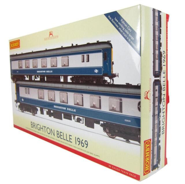 R2988 Hornby BRIGHTON BELLE, 1967 2 Car Pack, BRAND NEW!