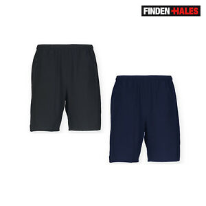 Finden /& Hales Mens Contrast Sports Tennis Football Gym Shorts S-2XL RW458