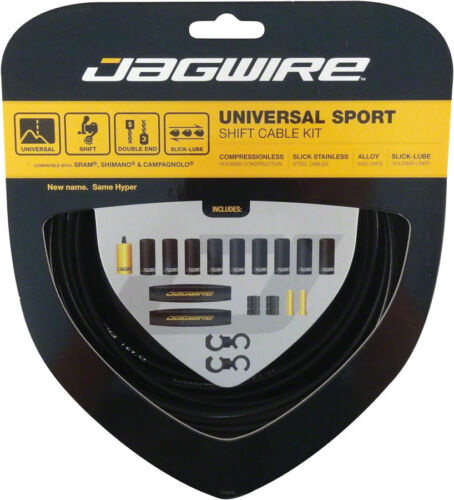 Jagwire Universal Sport Shift Cable Kit Black