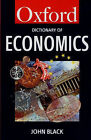 A Dictionary of Economics by John Black (Paperback, 1997)