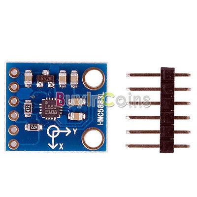 New HMC5883L Triple Axis Magnetometer Compass Sensor Module 3V-5V For Arduino