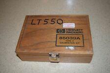 Ltss Hewlett Packard 85039a Type F Calibration Kit Ee