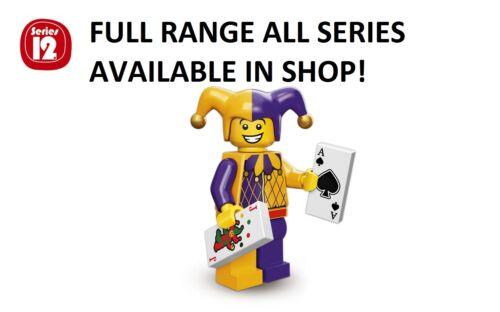LEGO Jester//corte Jester SERIE 12 non aperti nuovi di fabbrica sigillata