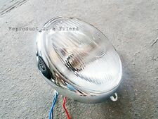 Honda CT90 ST90 SL100 SL125 SS125A XL100 XL125 Head Light Headlight Assy (6V.)