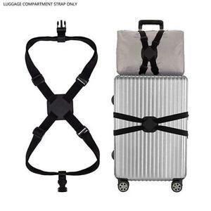 Gepaeck-Kreuz-elastischer-Gurt-Gurt-verstellbarer-Reisekoffer-Guertel-Taschen-N6P3