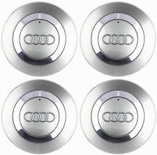 """4 OEM Wheel Center Cap 8E0601165 FOR AUDI 2002-2007 Audi A4 B6 16"""" 5 Spoke Wheel"""