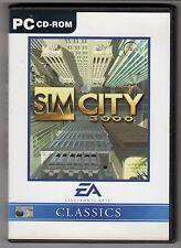 (GW105) Sim City 3000 - 1999 Game CD