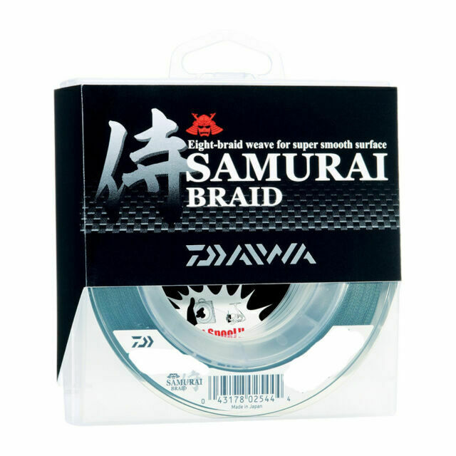 Daiwa Samurai Braid Green 300 yds Brand New
