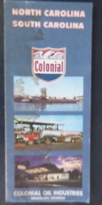 Smile Gasoline Service Station Matchbook unused rare 1960s-1970s North Carolina