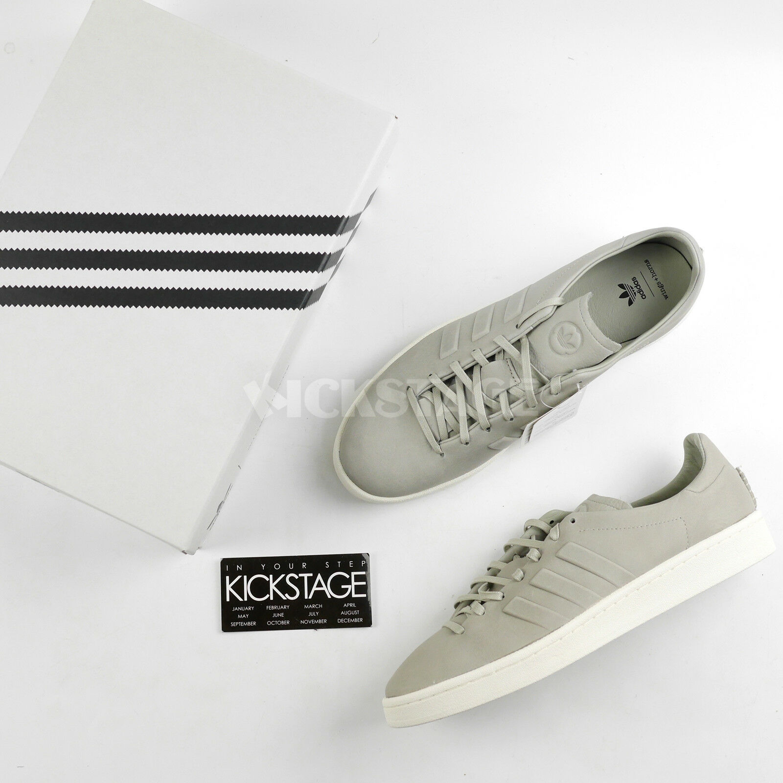 Adidas Originals by Wings + Horns WH Campus Sesame Chalk White CG3752