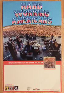 Music Poster Promo Hard Working Americans We/'re All In This Together