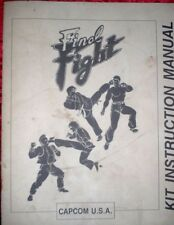 Capcom Final Fight KIT Intruction Manual