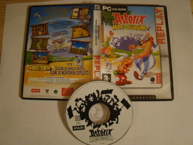 Jeu PC Astérix : Maxi-Delirium -FR-