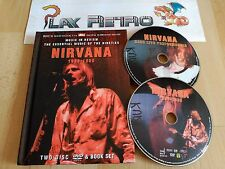 NIRVANA 1989 - 1996 TWO DISC DVD & BOOK SET MUY BUEN ESTADO