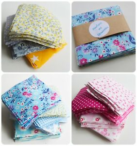 Bundle-36-x-Patchwork-Squares-100-Cotton-Fabric-Charm-Packs-Quilting-Remnants