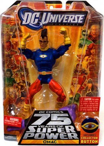 endommagé 75 ans de Super Power Classics validus série OMAC figurine