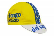 Cappellino corsa vintage Del Tongo Colnago