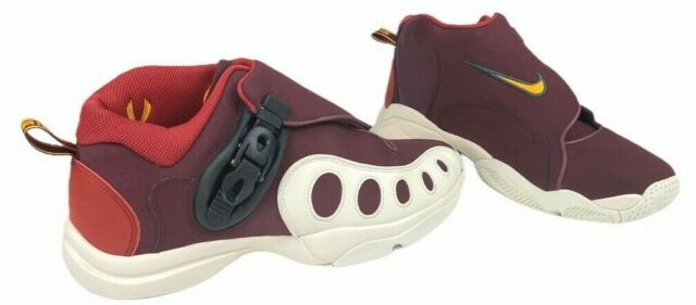 Nike Mens Zoom GP Basketball Shoes Red AR4342-600 Ratchet Mid Adjustable 10 New