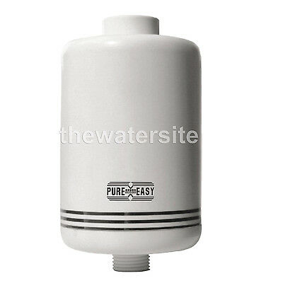 Shower Filter Inline Chlorine, Heavy Metal and Contaminant Removal-