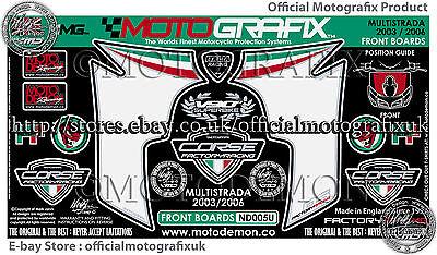 Kawasaki Ninja 250R 08-09 Front Fairing Number Board Motografix Gel Protector