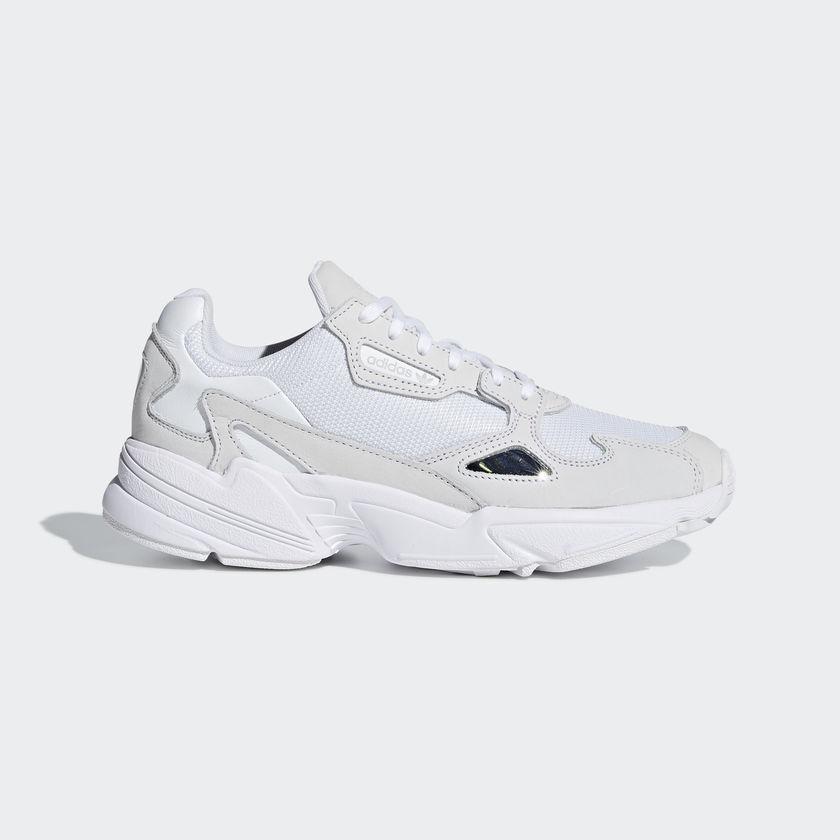 ADIDAS ORIGINALS FALCON  Chaussures  blanc/blanc B28128 US femmes  SZ 5-11