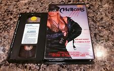 HELLCATS RARE CLAMSHELL VHS! ACADEMEY 1967 VINTAGE MOTORCYCLE ACTION HELL DRAMA!