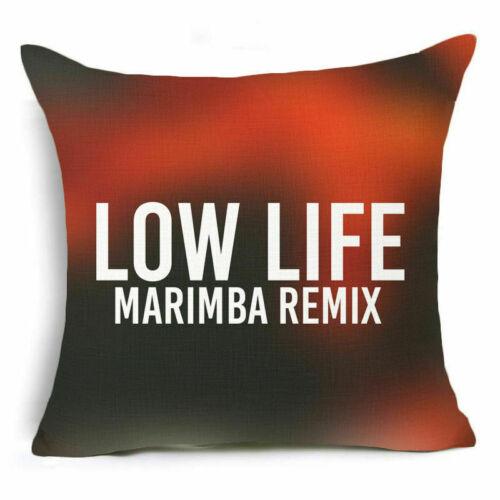 """18/"""" Cotton Linen Colorful Words Throw Pillow Case Sofa Cushion Cover Home Decor"""