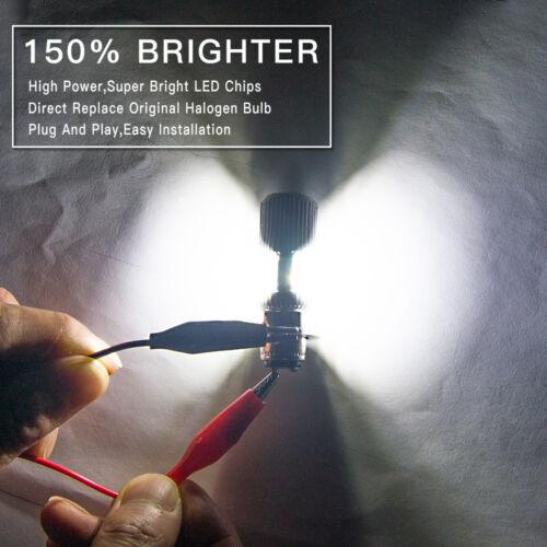 2PCS P15D H6M For Yamaha Raptor 125 250 350 660R 700 700R ATV LED Headlight Bulb