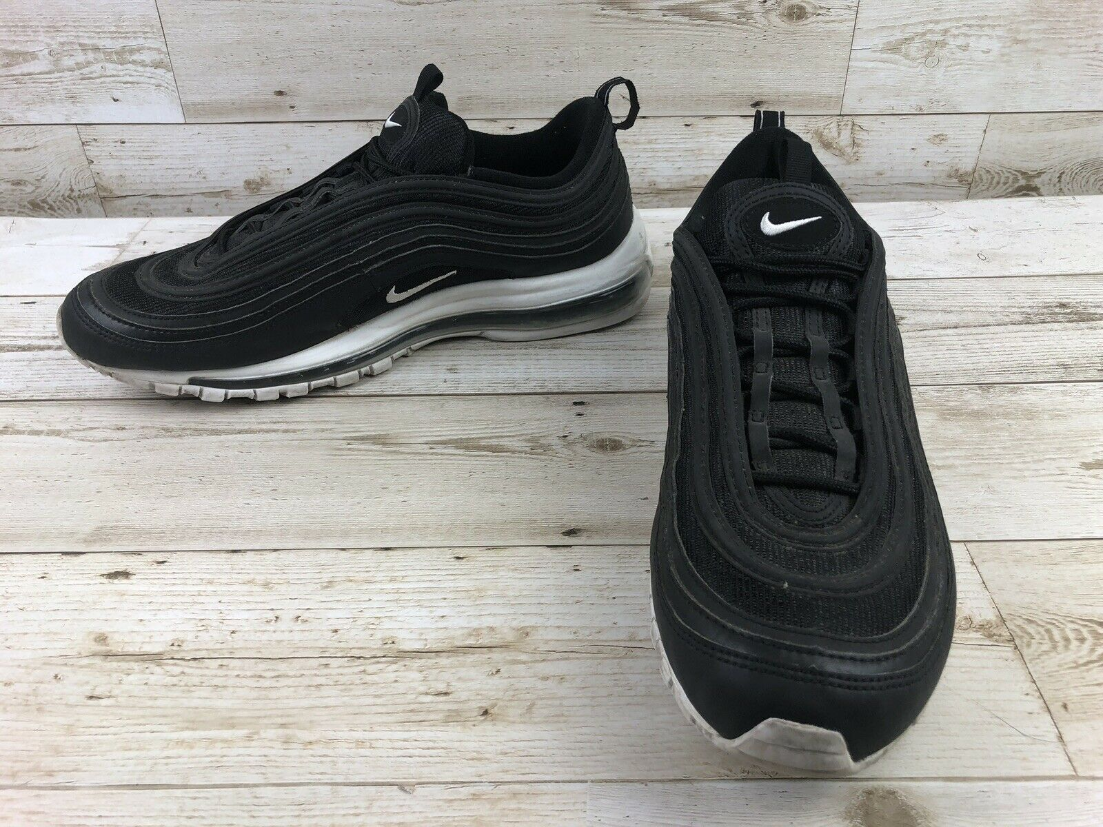 Mens Nike Air Max 97 Black Nocturnal Running shoes Size 12.5 Sneakers 921826-001