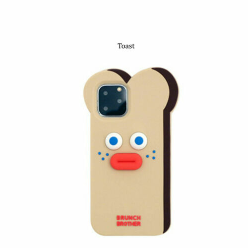 Brunch Brother Silicone Case for iPhone 11 11 Pro max Cute Phone Case