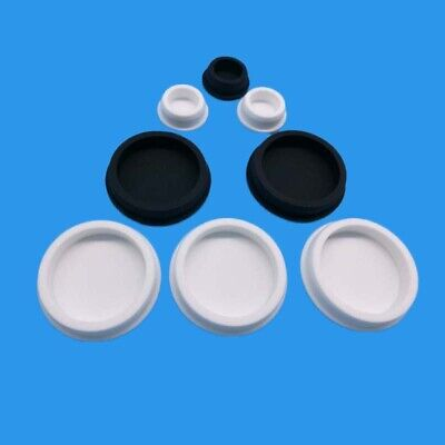 Silicone Rubber Blanking End Caps Tube Pipe Inserts Plug Bung Black White