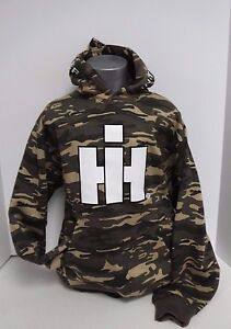 IH Logo Camo Youth Hoodie - Youth Sizes: M,L and XL