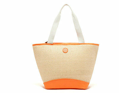 28 Can Large Straw Tote Cooler Thick Insulated Thermal Shopping Bag Picnic Bag