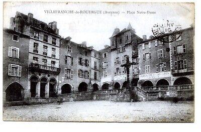 (s-103749) France - 12 - Villefranche De Rouergue Cpa